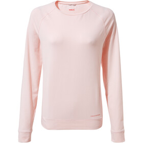 Craghoppers NosiLife Sydney T-shirt Manches longues Col ras-du-cou Femme, seashell pink